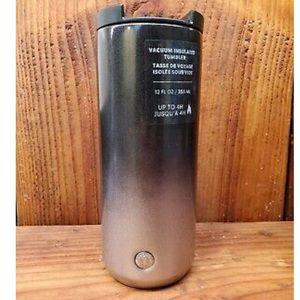 NWT Starbucks Ombre Stainless Steel Tumbler 12oz